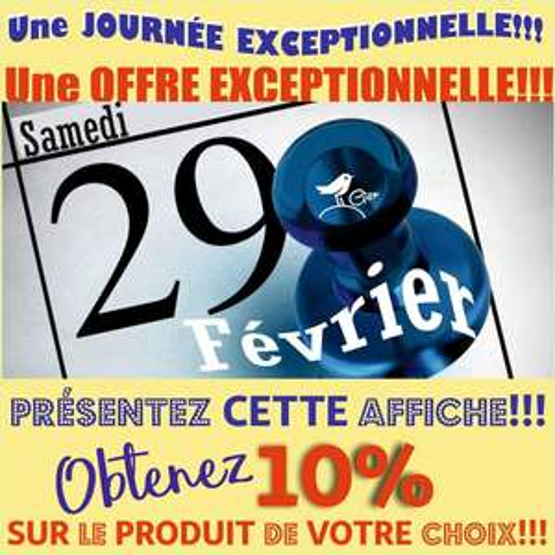 10% de réduction sur l'article de son choix - Auchan Gien (45)