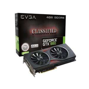 Carte graphique EVGA GeForce GTX 980 Classified Gaming ACX 2.0