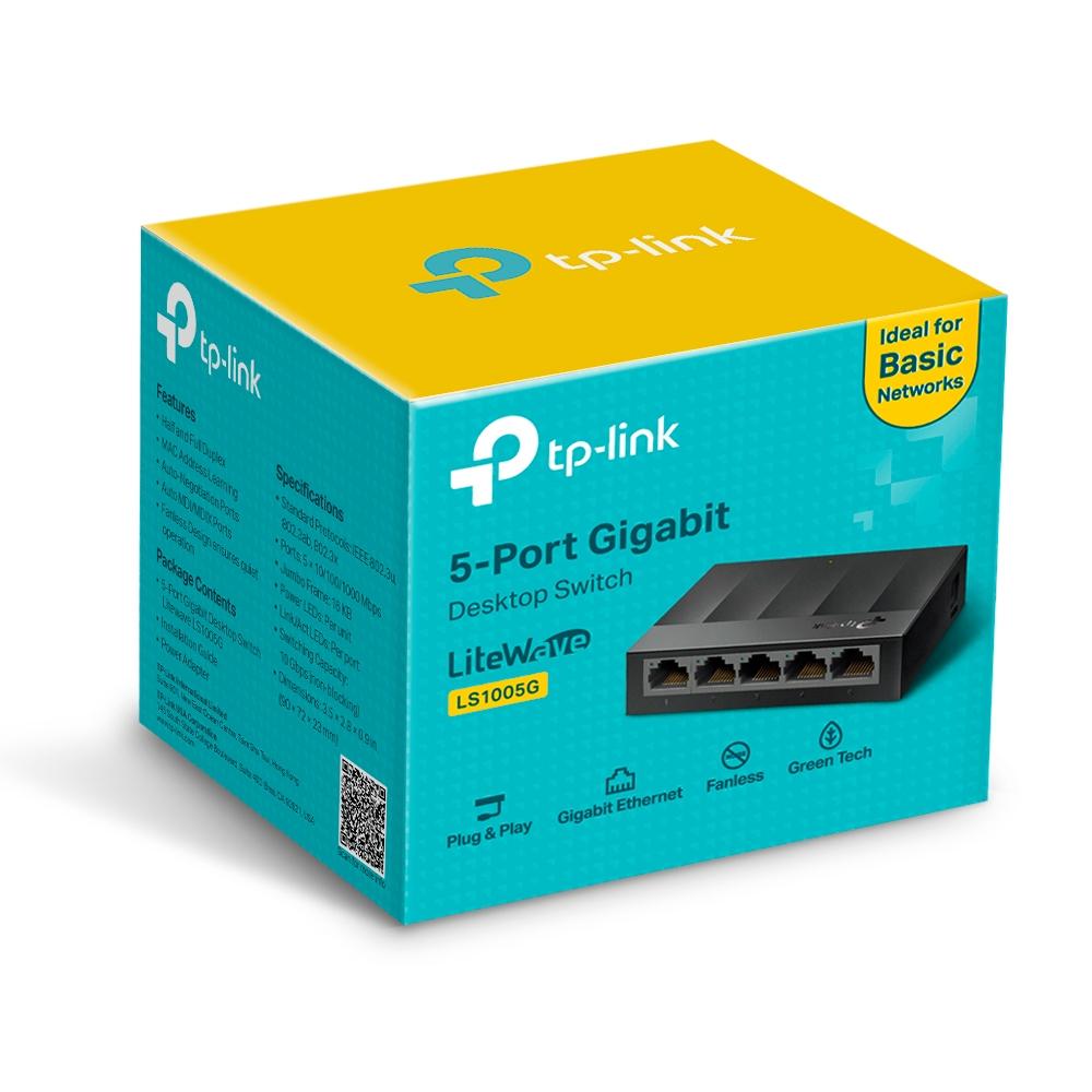 Switch Gigabit 5 ports Tp-link LS1005G