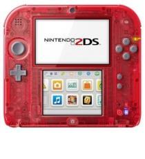 Console Nintendo 2DS transparente - Rouge