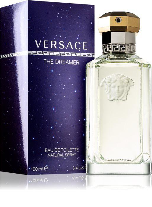 Eau de Toilette pour homme Versace The Dreamer - 100ml + Rouge à lèvres ou vernis à ongles NOBEA offert