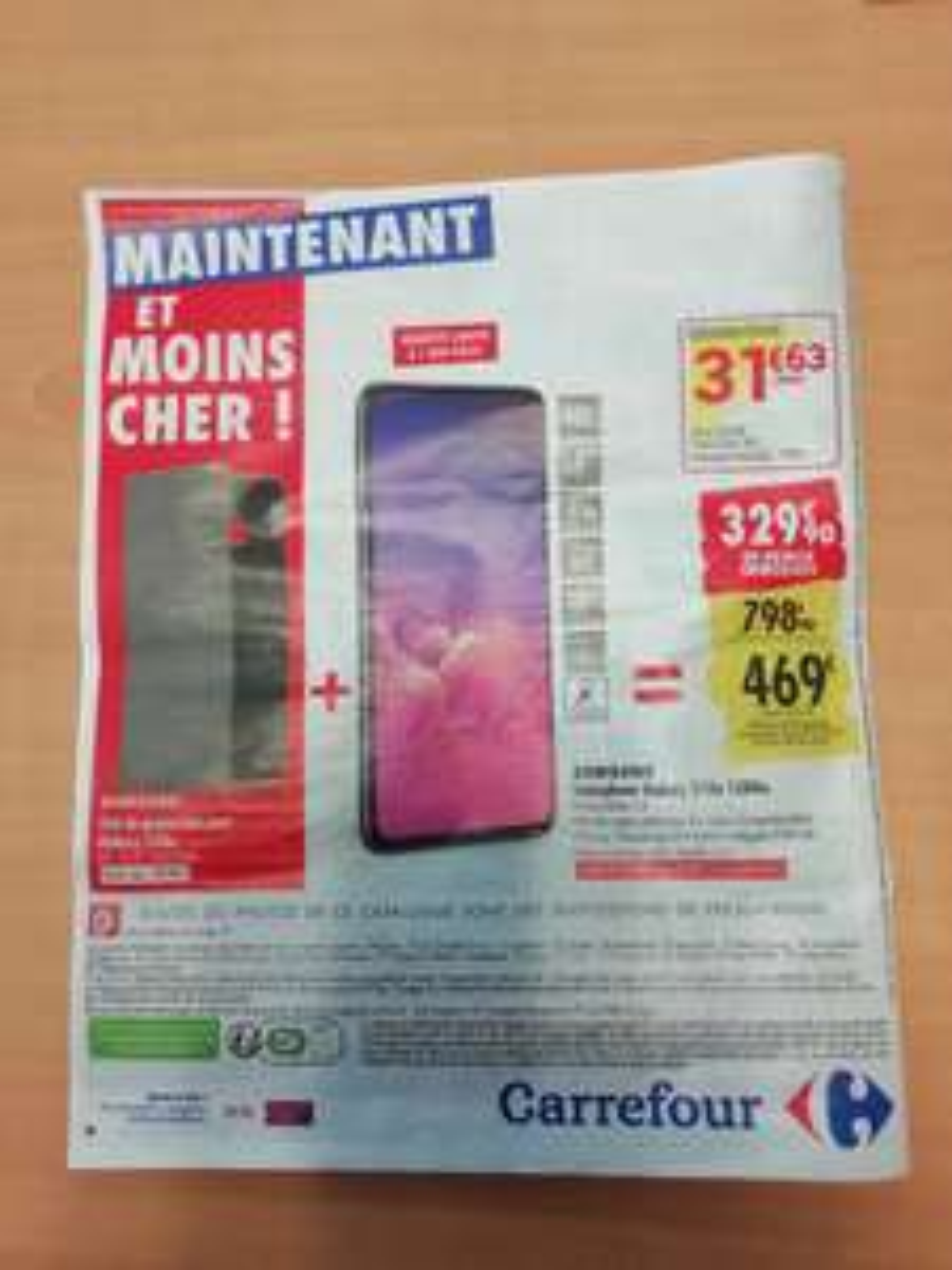 """Smartphone 5.8"""" Samsung Galaxy S10e - 6 Go RAM, 128 Go + Etui de Protection"""