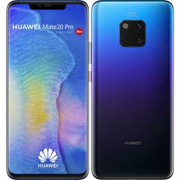 "Smartphone 6.39"" Huawei Mate 20 Pro - OLED QHD+, Kirin 980, RAM 6 Go, ROM 128 Go (Reconditionné - Très bon état - Garantie 1 an)"