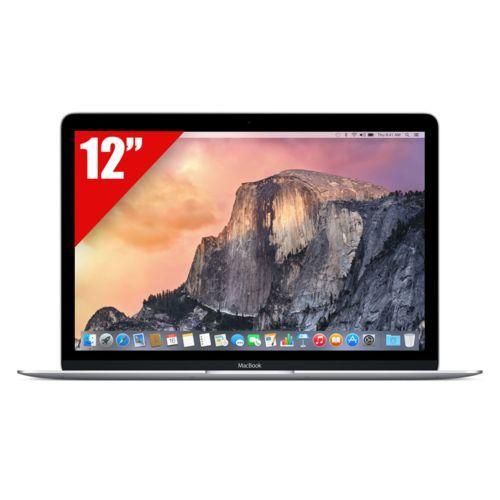 "Pc portable 12"" MacBook Retina Intel Core M (1,2 GHz) - Stockage flash PCIe 512 Go - Ram 8 Go"