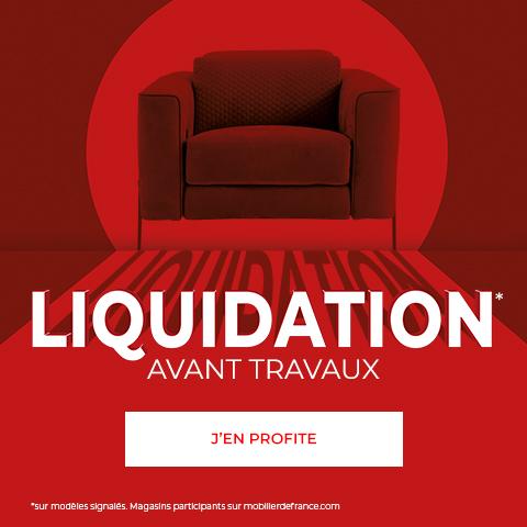 Sélection d'articles en promotion (liquidation avant travaux) - Mobilier de France