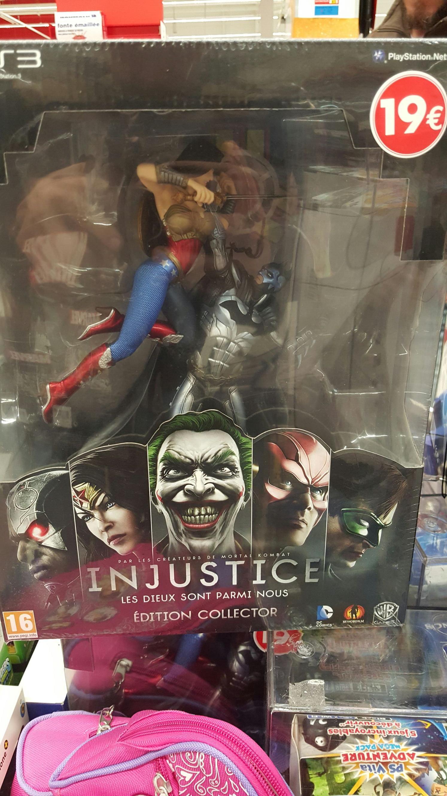 Injustice : Les Dieux Sont Parmi Nous - Edition Collector sur PS3
