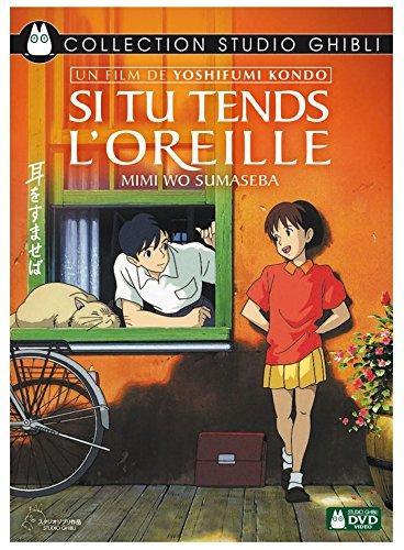 Divers titres en DVD du Studio Ghibli en promotion - Ex : Si tu tends l'oreille