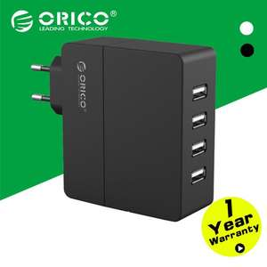 Chargeur secteur Orico 4 ports usb 2.4A Fast charge