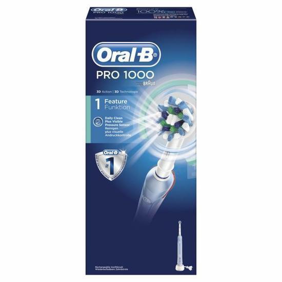 Brosse à dents électrique rechargeable Oral-B Pro 1000 CrossAction