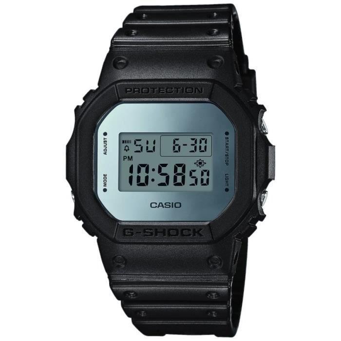[CDAV] Montre digitale Casio G-SHOCK DW-5600BBMA - Illuminator, Étanche, Chronomètre, Alarme (39,99€ pour les non CDAV)
