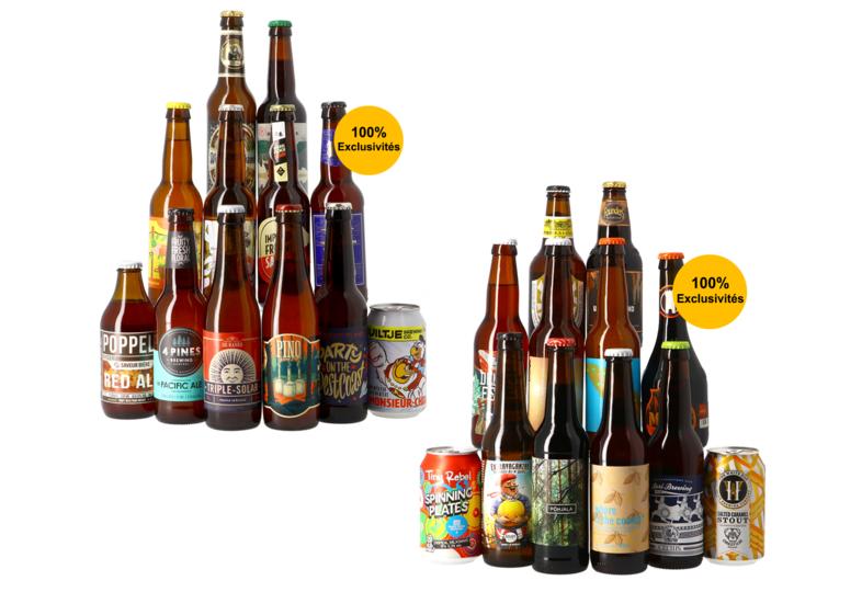 Assortiment de 24 bières Les Styles Classiques + Les Styles Originaux (DDM courte, 01/04)