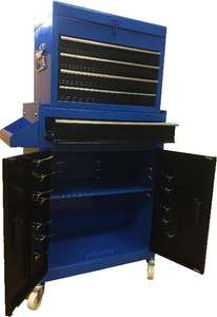 Servante d'atelier Def'Pro Serv 106 - 2 portes, 1 tiroir avec caisson 4 tiroirs