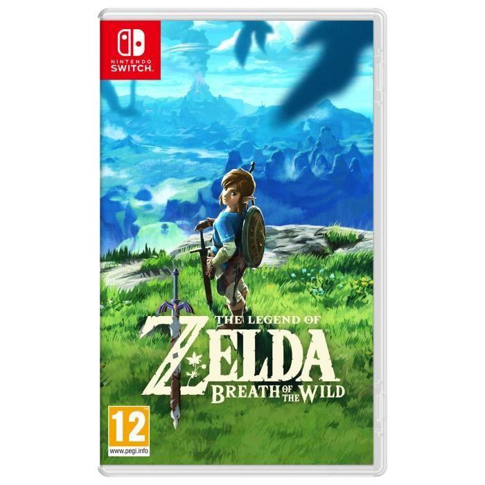 The Legend of Zelda : Breath of the Wild sur Nintendo Switch