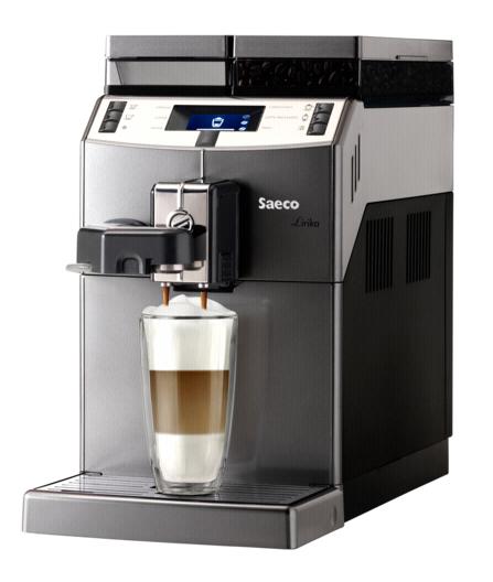 Machine à café Saeco Lirika OTC Autonome 2.5L Noir, Gris, Métallique