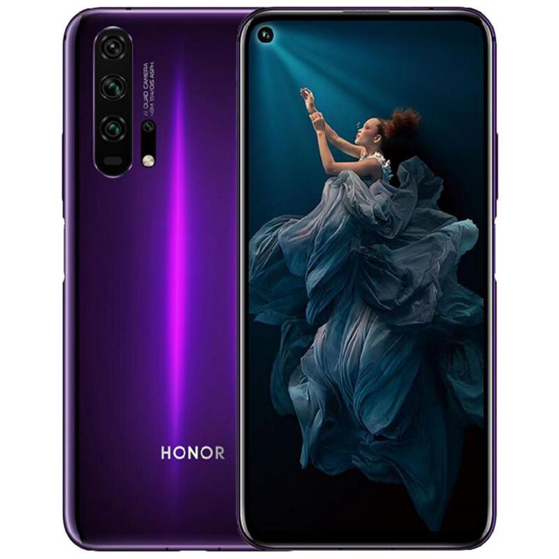 "[Clients Sosh] Smartphone 6.26"" Honor 20 Pro - Full HD+, Kirin 980, RAM 8 Go, 256 Go, Noir"