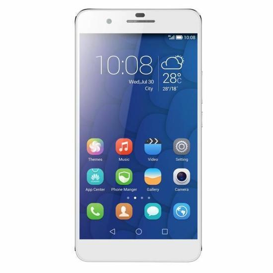 """Smartphone 5.5"""" Honor 6 Plus - Noir ou Blanc"""