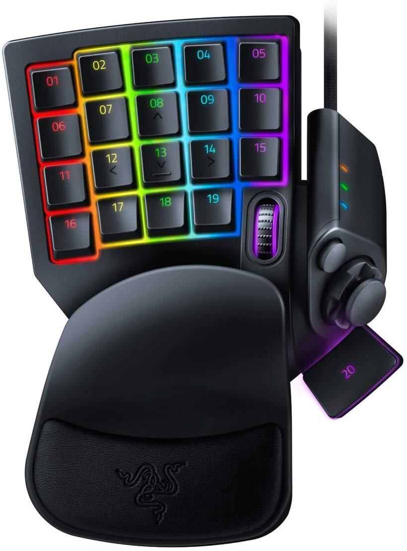 Keypad opto-mécanique Razer Tartarus Pro - 32 touches programmables / 8 profils, rétroéclairage RGB Chroma