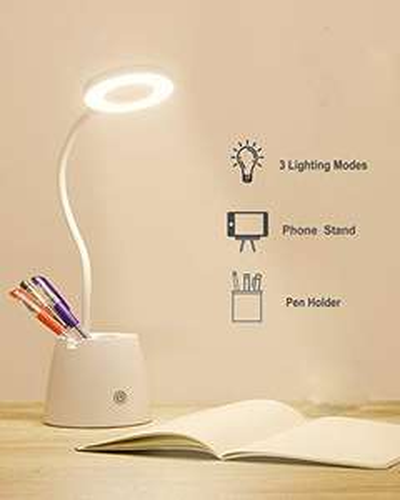 Lampe de bureau LED Suuki - pot à crayons (vendeur tiers)