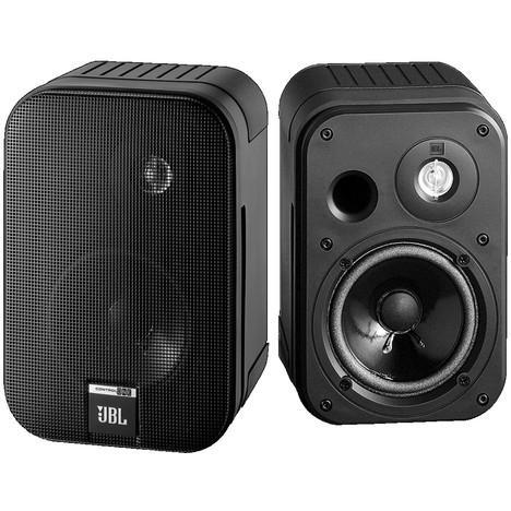 Pack de 2 haut-parleurs JBL Control One Aw (2 voies) 100W - Intérieur/extérieur et kit de fixations murales