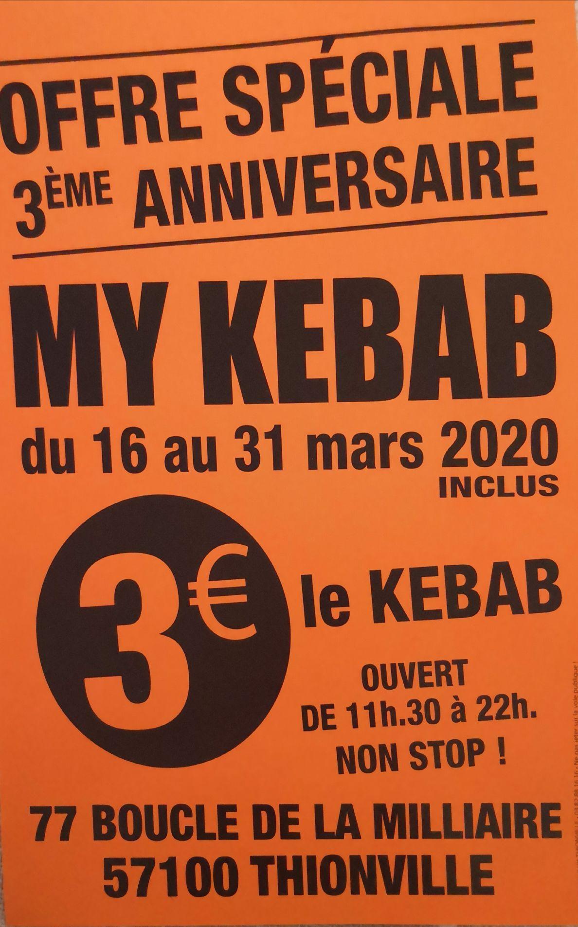 Kebab - My Kebab Thionville (57)