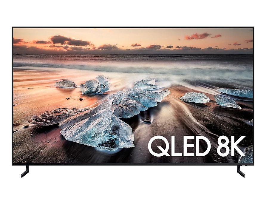 "TV 65"" Samsung QE65Q900R - 8K UHD, HDR 10+, QLED, 10 bits, Smart TV (frontaliers Suisse)"