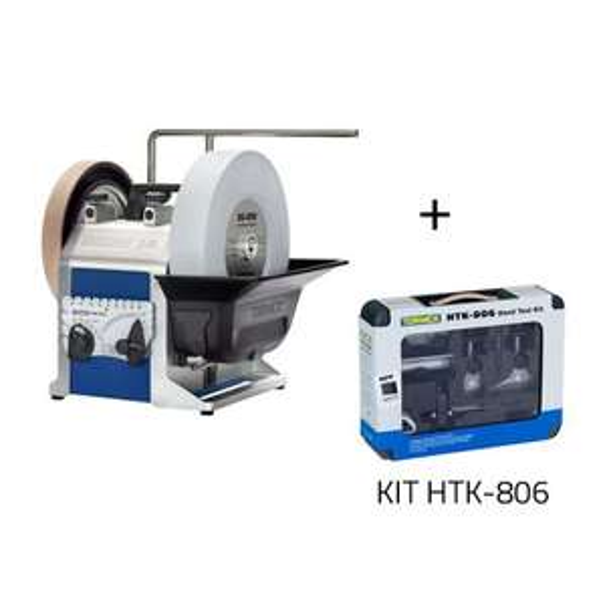 Affûteuse Tormek T8 + kit d'outillage à main Tormek HTK-806 - LuxOutils.com