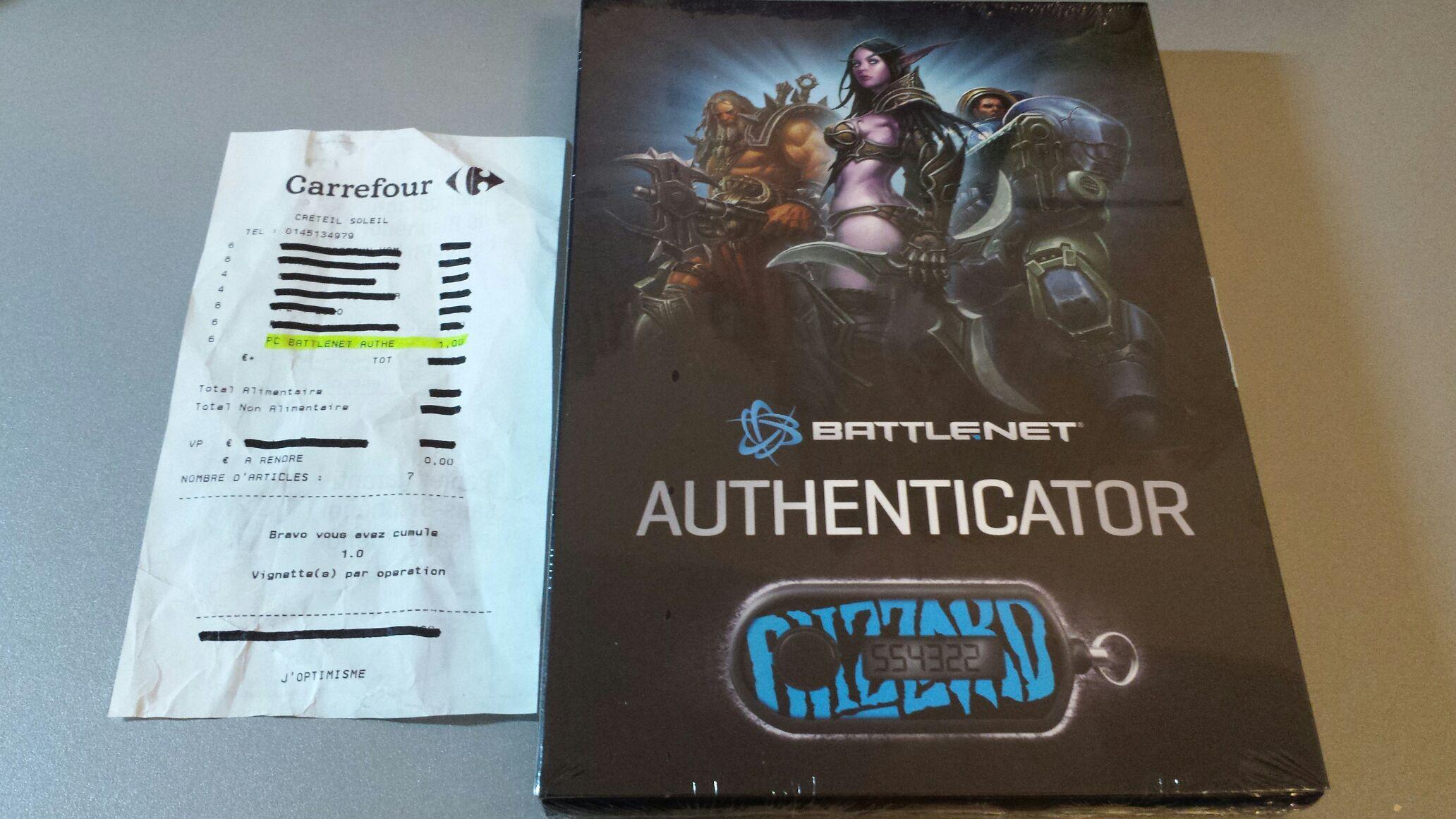 Authenticator Battle.net