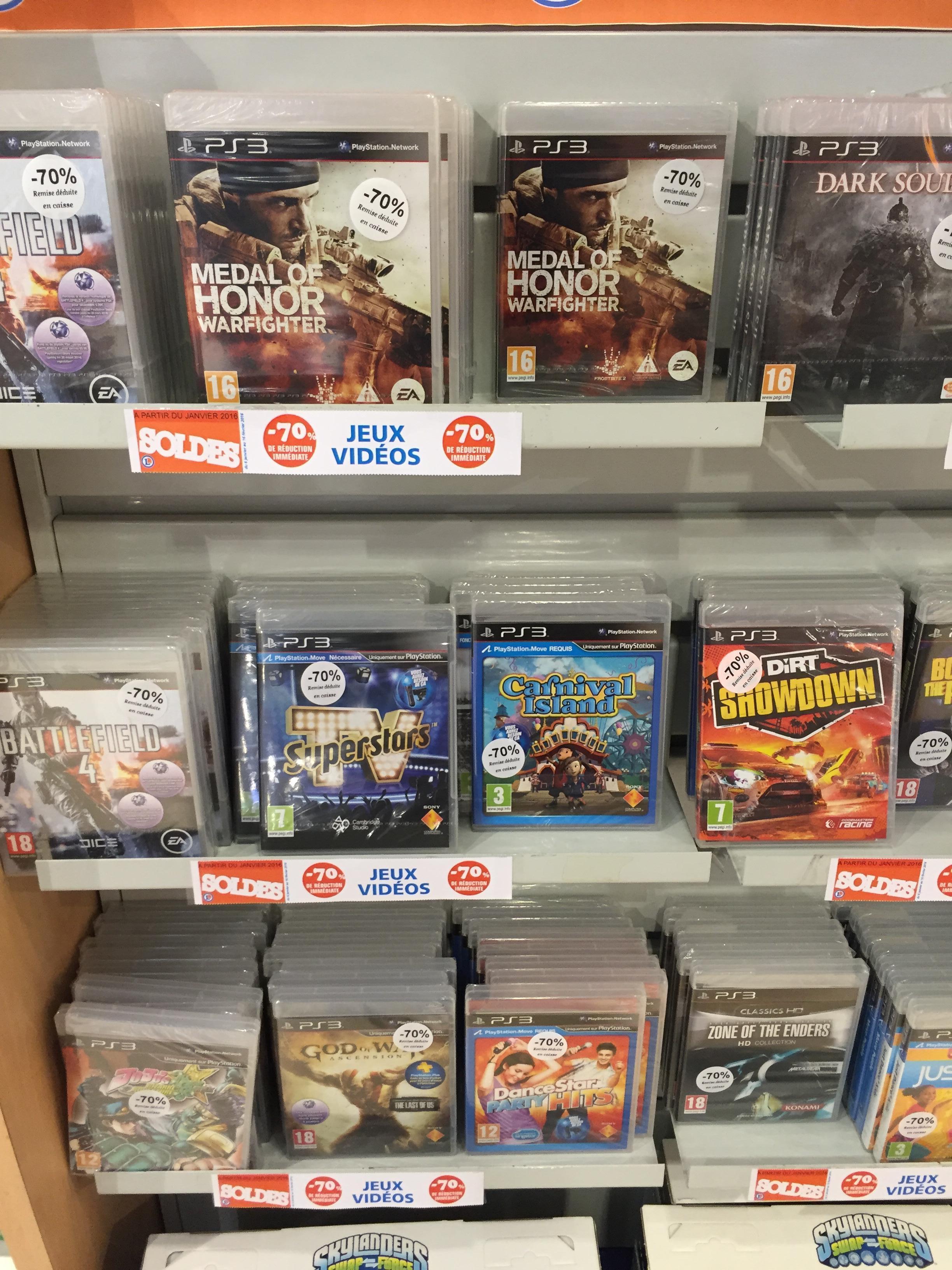 70% de réduction sur une sélection de jeux PS3 / Xbox 360 - Ex : Battlefield 4 sur PS3