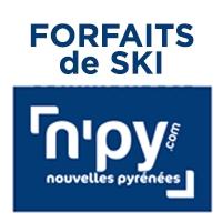 30% de réduction sur une sélection de forfaits de ski dans différentes stations des Pyrénées ou carte N'Py No'Souci