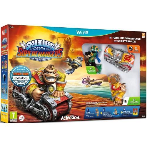 Pack de démarrage Skylanders SuperChargers sur Wii U