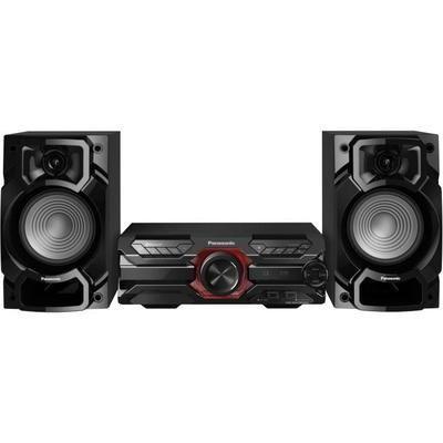 Mini-Chaîne HiFi Panasonic SC-AKX320 - 450W, Bluetooth, CD + Radio FM, Double USB