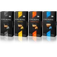 5 boites de capsules de café Royal Café pour Nespresso ( 40% immédiat + BDR )
