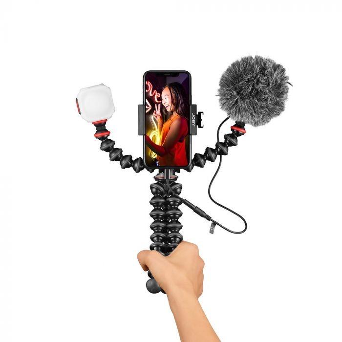 40% de réduction sur une sélection de produits - Ex : Kit de vlogging GorillaPod Mobile (joby.com)