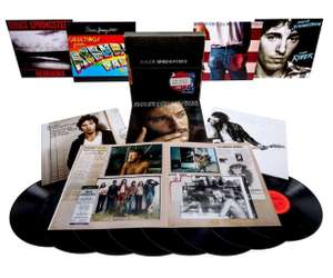 Coffret 8 vinyles Bruce Springsteen Album Collection Vol 1 (1973-84)