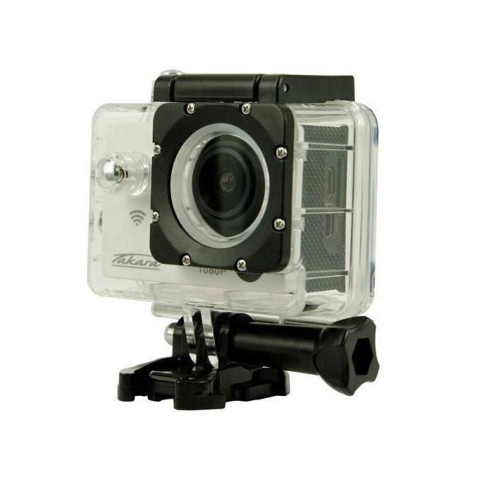 Caméra sport étanche Takara CS9 Full HD WiFi (Avec ODR de 20€)
