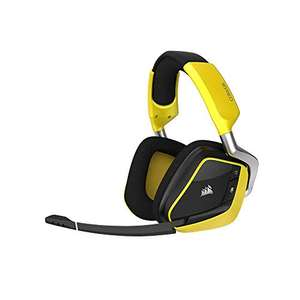 Casque-micro sans-fil Corsair VOID Pro RGB Wireless 7.1 - Jaune/Noir