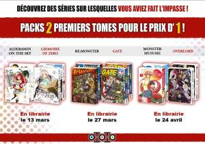 Pack de mangas : Tome 1 + tome 2 - Edition Ototo