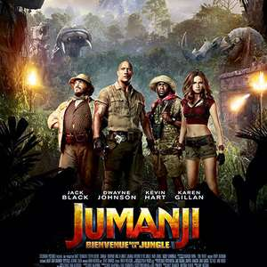 [Clients Freebox TV] Film Jumanji : Bienvenue dans la jungle HD ou SD gratuit via Canal VOD