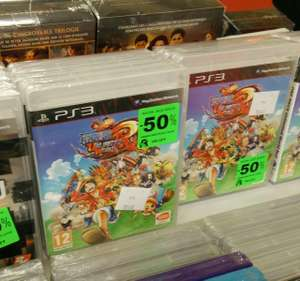 One piece unlimited world red sur PS3 (autres voir description)