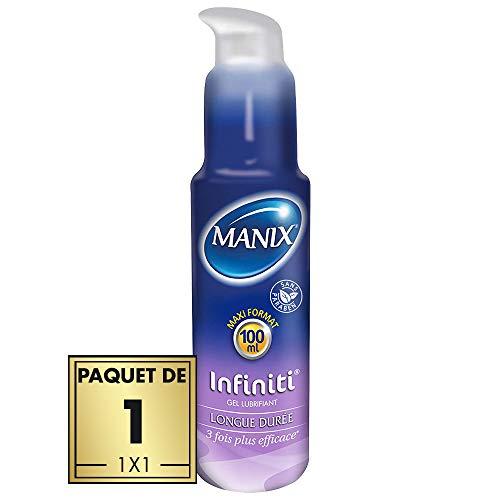 Gel lubrifiant Manix Infiniti - Silicone Efficacité Longue Durée - 100ml