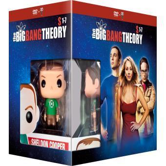 Coffret DVD The Big Bang Theory - Saison 1 à 7 + Figurine POP!