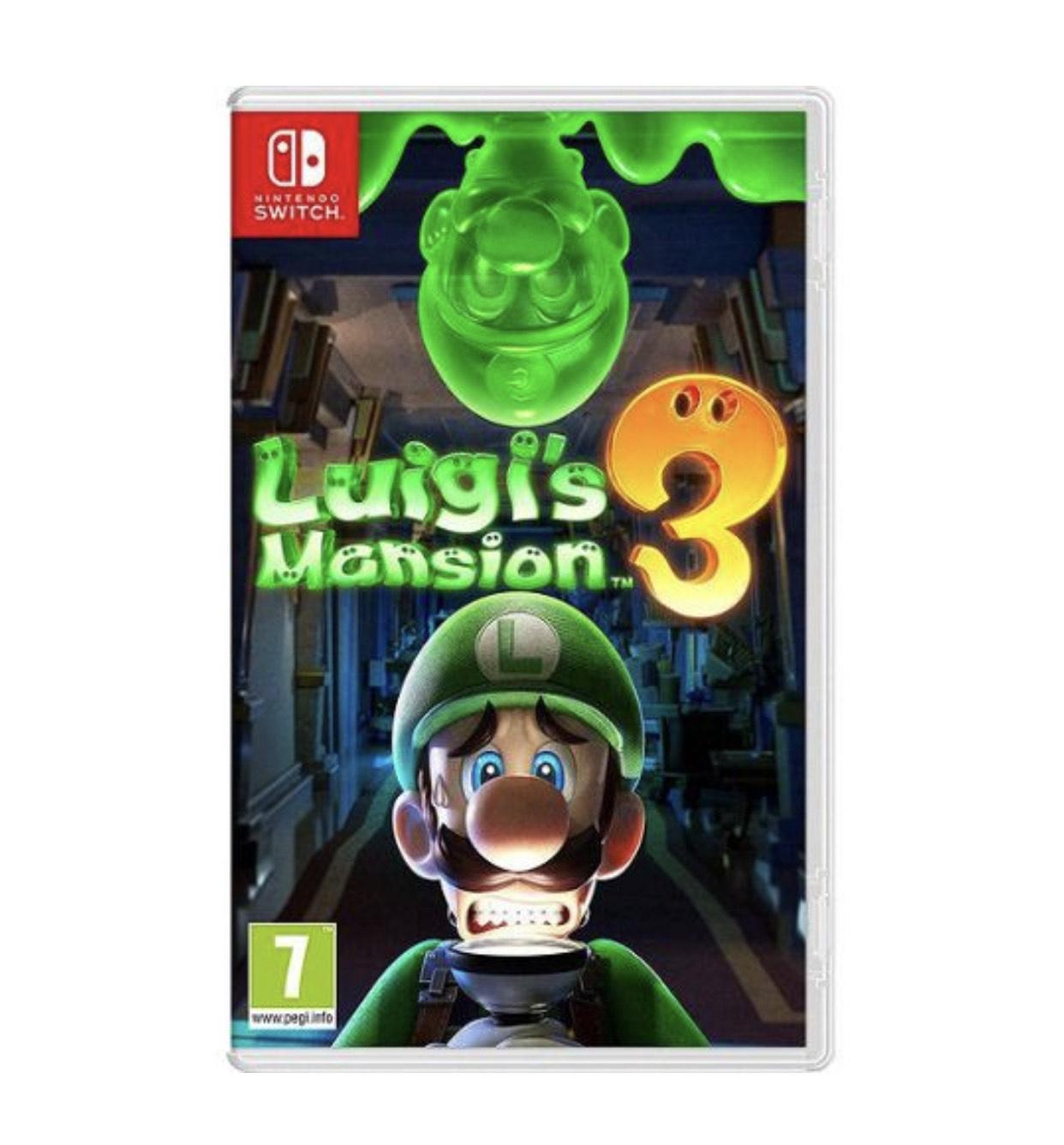 Jeu Luigi's Mansion 3 sur Nintendo Switch