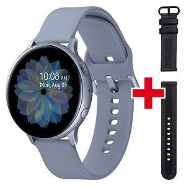 Montre connectée Samsung Watch Active 2 44mm + bracelet supplémentaire offert (Frontaliers Suisse)