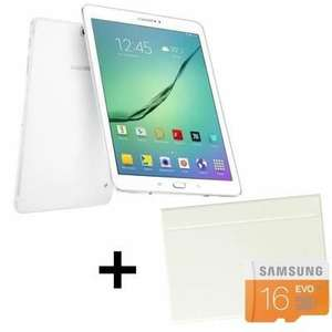 "Tablette 9.7"" Samsung Galaxy Tab S2 + Cover Book + Carte MicroSD 16 Go"