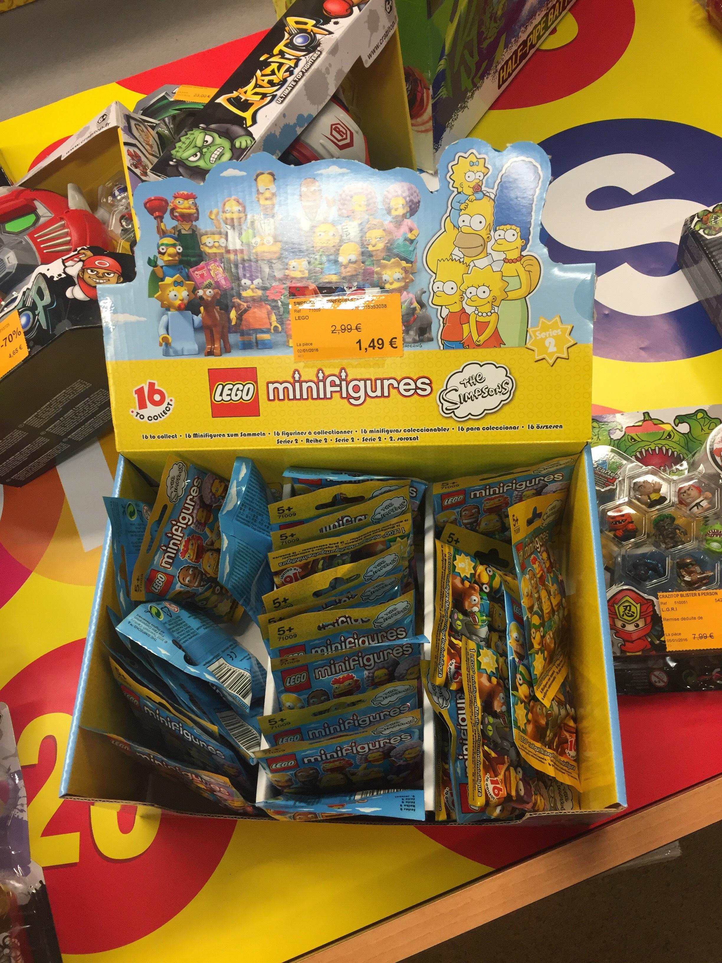 Minifigure Lego Simpsons série 2