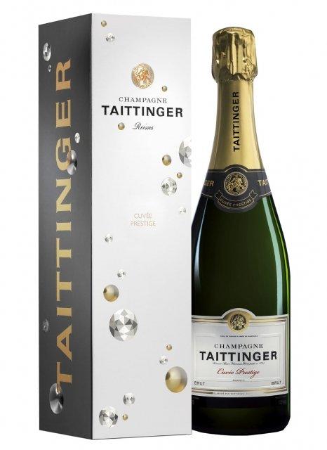 Bouteille de champagne Taittinger - 75cl (plus-de-bulles.com)