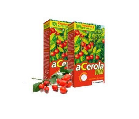 Lot De 2 Boites de 30 Comprimés Arkopharma Acerola 1000 (doctipharma.fr)