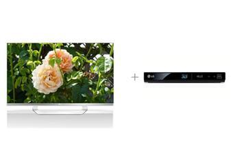 """Télévision LG 42"""" 3D + Lecteur blu-ray LG BP325 3D"""