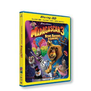 Achetez les cinq légendes et bénéficiez de 10€ de réduction sur le Blu-ray ou le Blu-ray 3D Madagascar 3