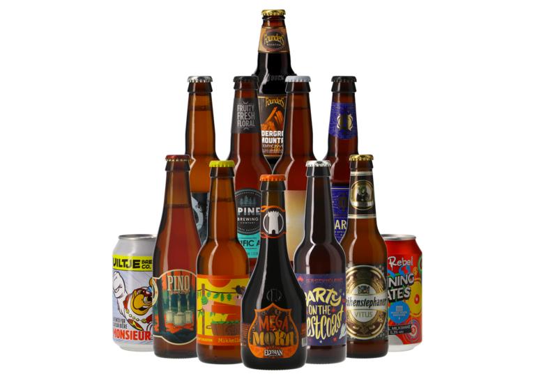 Assortiment de 12 bières À la découverte des styles